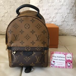 5dbf6ad10fef Louis Vuitton Palm Springs Mini Rev Monogram. New!